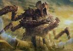 Обои Lord of Extinction / Повелитель вымирания разрушает Египет, by Jason Engle