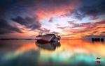 Обои Две лодки на воде, фотограф Bertoni Siswanto