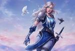 Обои Anniela-Blood elf / Анниела-Эльф крови из игры World of Warcraft / Мир военного ремесла, by Astri Lohne
