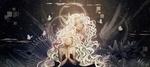 Обои Две темнокожих блондинки сложили руки в молитве, автор Funakura