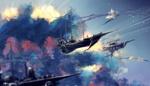 Обои Воздушные суда в небе, by SeerLight