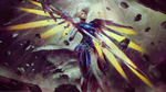Обои Mercy / Ангел / Ангела Циглер из игры Overwatch / Дозор, by Eddy-Shinjuku