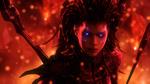 Обои Sarah Kerrigan-Queen of Blades / Сара Керриган-Королева Клинков из игры StarCraft Brood War, by lonefirewarrior