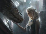 Обои Daenerys Targaryen / Дейнерис Таргариен из сериала Game Of Trones / Игра Престолов, by G-host Lee