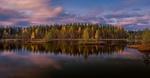 Обои Осенний лес на берегу реки, фотограф Evalds Kivlenieks