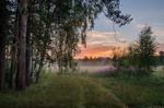 Обои Летний вечер дождливого дня, Калужская область, фотограф Горшков Игорь