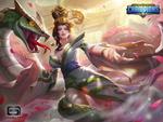 Обои Маг Snake lady / Леди-змея из игры Dungeon Hunter Champions, by exia xiaotong