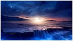 Обои Красивый закат над каскадным рифом, by Ellysiumn