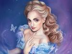 Обои Cinderella / Золушка из мультфильма Золушка / Cinderella, by Dimitris Karakousis