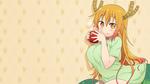 Обои Tooru / Тору из аниме Kobayashi-san Chi no Maid Dragon / Дракон-горничная Кобаяши, by Dekodere