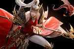 Обои Девушка-Dragon Knight / Рыцарь дракона, by A-rang