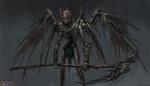 Обои Death Angel / Ангел смерти, by Russell Dongjun Lu