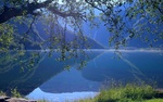 Обои Озеро Eidsvatnet в Норвегии / Norway