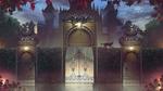 Обои Кошка идет по ограде, by Rachid Lotf