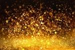 Обои Золотые брызги на темном фоне