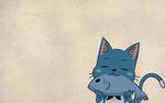 Обои Happy / Хэппи из аниме Fairy Tail / Сказка о Хвосте феи, by belkar
