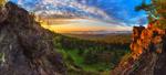 Обои Хребет Урал-тау в Уральских горах на рассвете, фотограф Сагайдак Павел