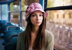 Обои Модель Mariya Volokh в шляпке, фотограф Maxim Maximov
