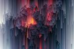 Обои Занавес из разноцветных красок, фотограф Сергей Толмачев