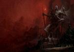 Обои Архидемон и Принц Крови из Преисподней-Samael / Самаэль, by Artem Demura