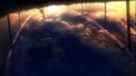 Обои Девушка и облака отражаются в воде вверх ногами, by Y_Y