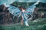 Обои Девушка в образе ангела. Фотограф Irina Chernyshenko