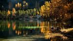 Обои Озеро Пальпуогна в швейцарских Альпах, by Irca & Jacky K