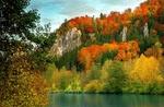 Обои Осень у озера