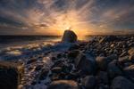 Обои Закат над побережьем, Mоlen, Norway / MГеlen, Норвегия. Фотограф Ole Henrik Skjelstad