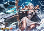 Обои Лучник Celeste / Селеста из игры Guardian Kingdoms / Защитник Королевств, by Derrick Chew