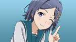 Обои Komachi Hikigaya / Комачи Хикигая из аниме Yahari Ore no Seishun Love Comedy wa Machigatteiru / Как и ожидалось, моя школьная романтическая жизнь не удалась, by Starsilvery