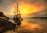 Обои Осень на Неве, Санкт-петербург, фотограф Эд Гордеев