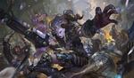 Обои Битва героев игры World of Warcraft / Мир военного ремесла, by Bo Chen