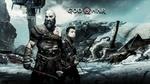 Обои Постер Игры Good of War Кратос со своим сыном Атреем