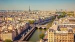 Обои Прекрасный вид сверху на Эйфелеву башню, Paris / Париж, France / Франция