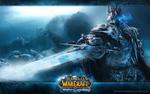Обои Постер игры World of WarCraft Wrath the Lich King / мир военного ремесла: гнев короля-Лича