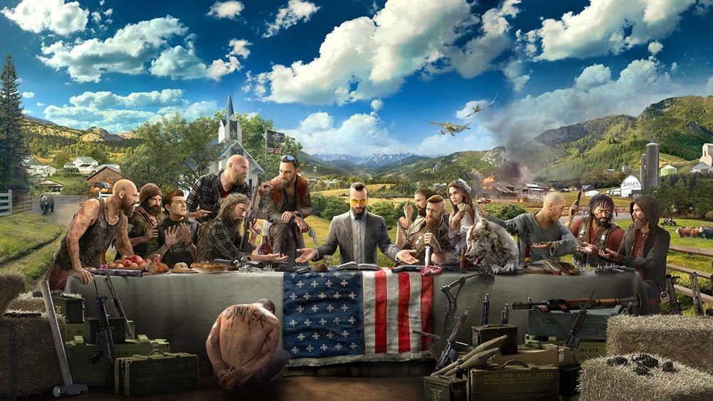 Обои для рабочего стола Постер игры Far Cry 5