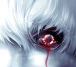 Обои Ken Kaneki / Кен Канеки из аниме Tokyo Ghoul / Токийский Гуль, by nikicheiry