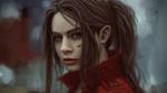 Обои Портрет Claire Redfield / Клэр Редфилд, персонажа сериала Resident Evil