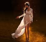 Обои Девушка в белом платье, by wonbin lee