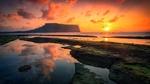 Обои Восход солнца над пляжем, фотограф Jaewoon U