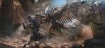 Обои Битва богов, арт к фильму Gods of Egypt / Боги Египта, by Maciej Kuciara