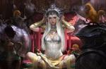 Обои Amored princess / Принцесса в доспехах, by KILART
