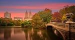 Обои Осень в Central Park, New York / Центральном парке, Нью-Йорк. Фотограф John S