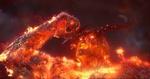 Обои Демон Surtur / Суртур, арт к фильму Thor: Ragnarok / Тор: Рагнарек, by Daren Horley