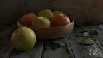 Обои Яблоки в тарелке на дощатой поверхности, by Svetlana Rastegina