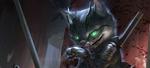 Обои Cat assassin / Кот-убийца из игры Hex, by Rudy Siswanto