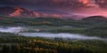 Обои Хребет Нурали осенью, Южный Урал, фотограф marateaman
