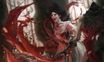 Обои Alice / Алиса с ножом из игры Alice: Madness Returns / Алиса: безумие возвращается, by Hei Pai