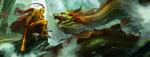 Обои The monkey king / Король обезьян против дракона, by macduykhanh121094